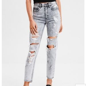 American Eagle MOM jeans size 0 NWOT